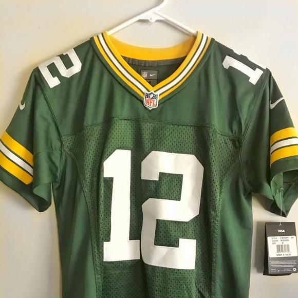 finest selection 84850 57c1c NFL Green Bay Packers Aaron Rodgers jersey NWT